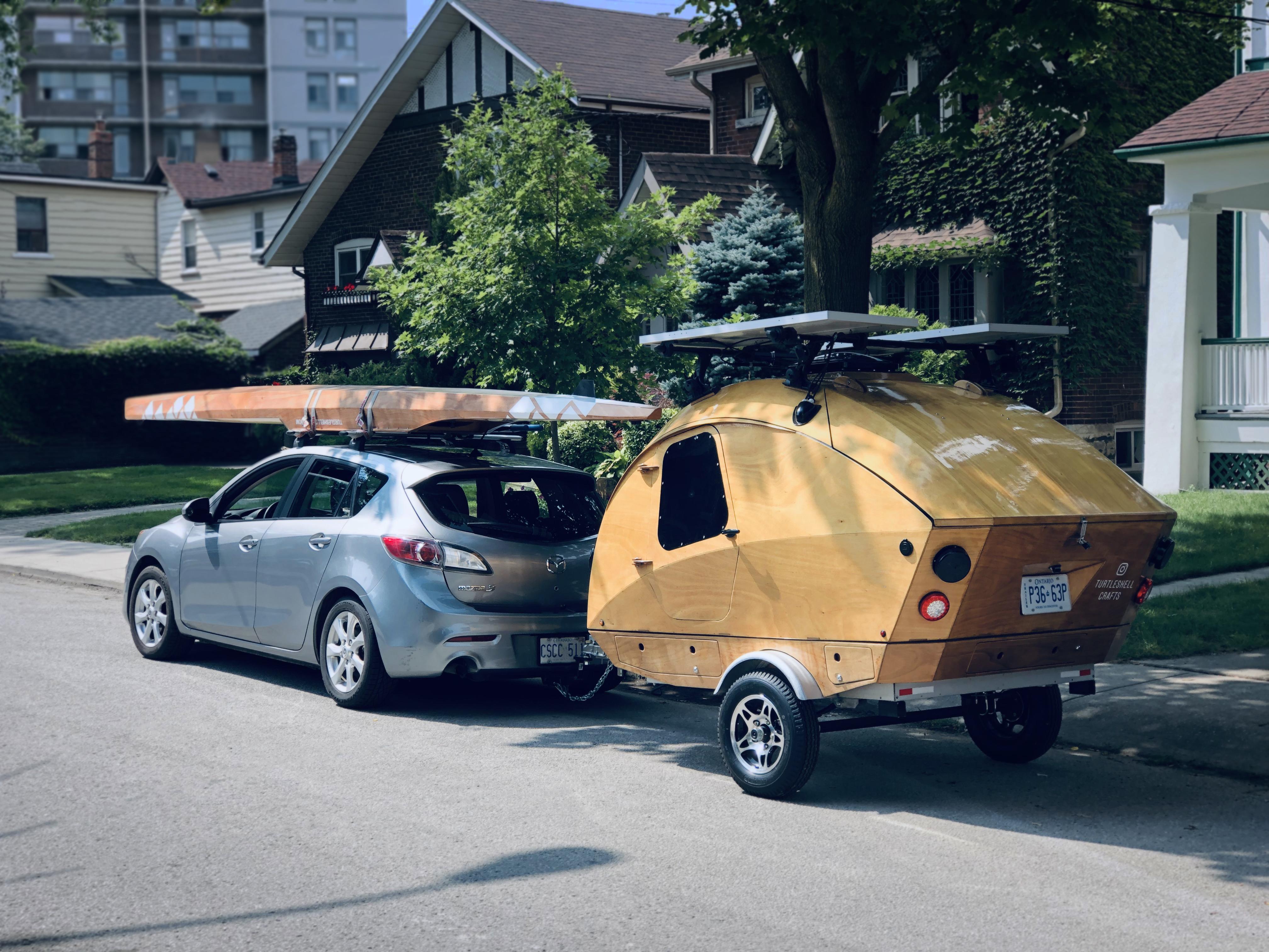 Teardrop Camper by Tristan A.