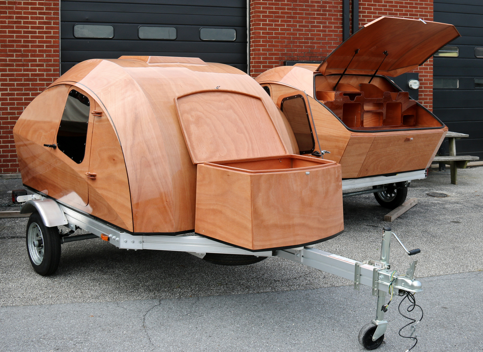 Completed Clc Teardrop Camper For Sale