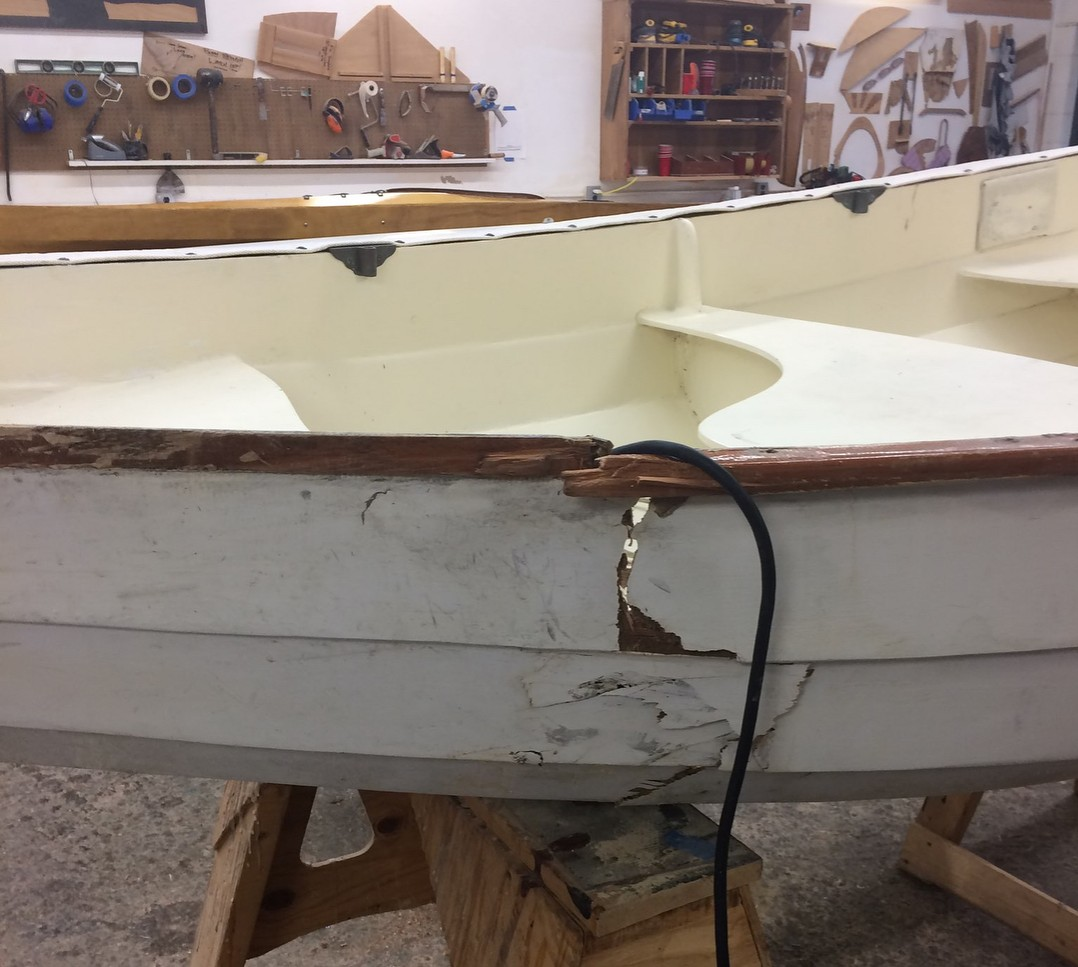 Hull Repair at Chesapeake Light Craft