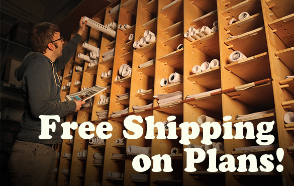 Free Shipping on Plans through 11/19