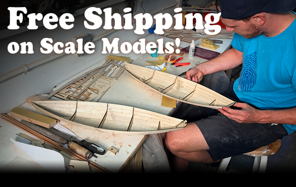 Free Shipping on Scale Model Kits through 11/19