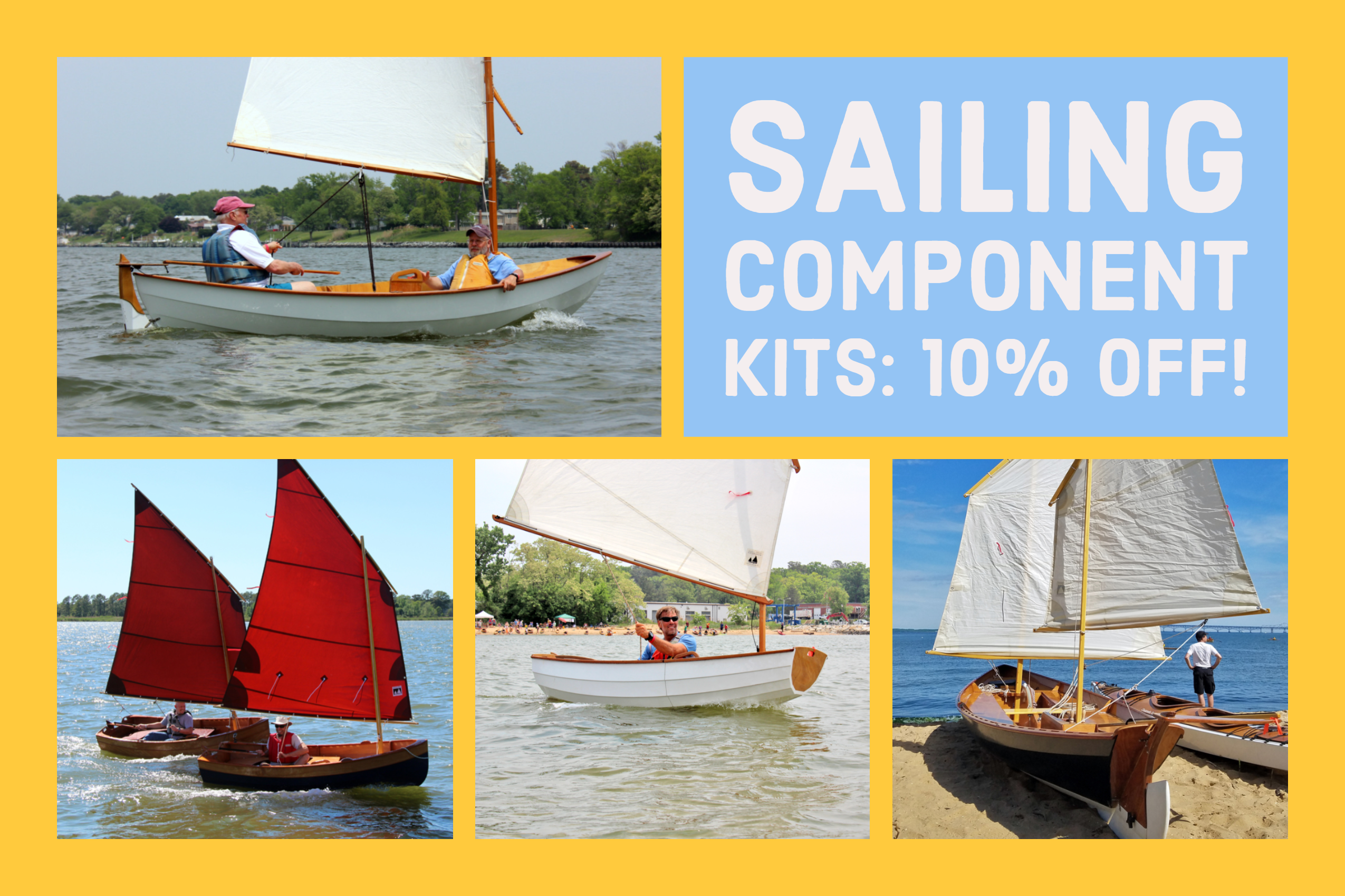Sailing Component Kits on Sale!