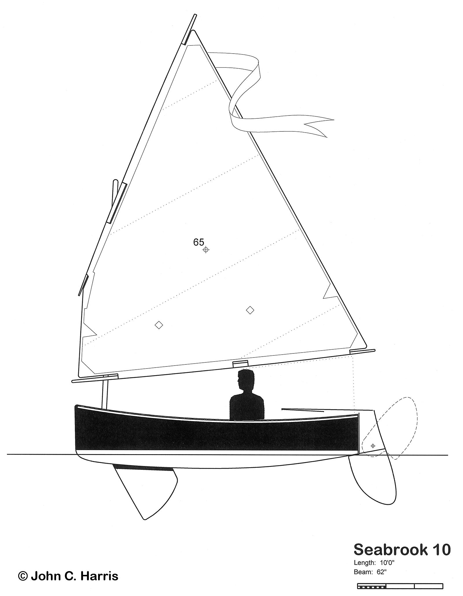 10-foot Seabrook Dinghy