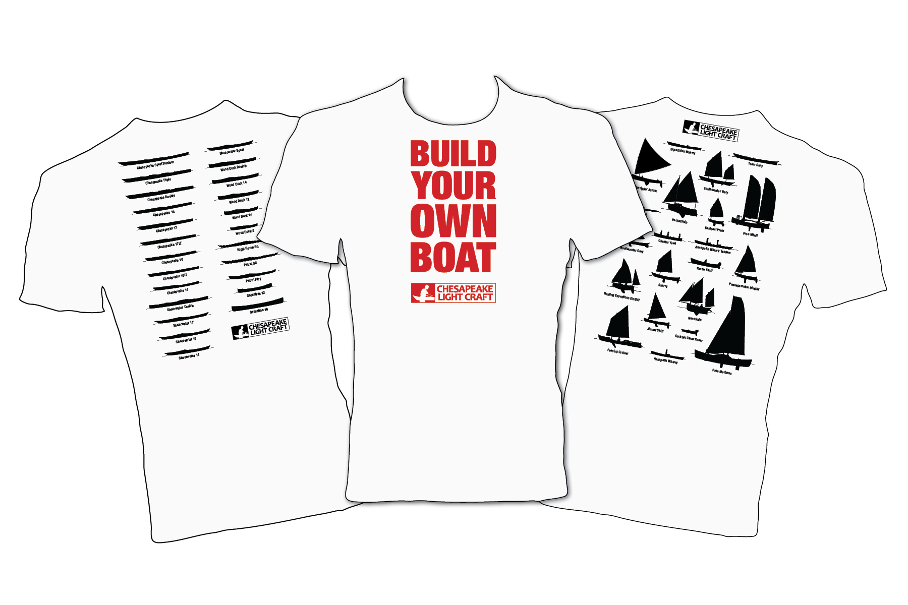 Build Your Own Boat T-Shirt