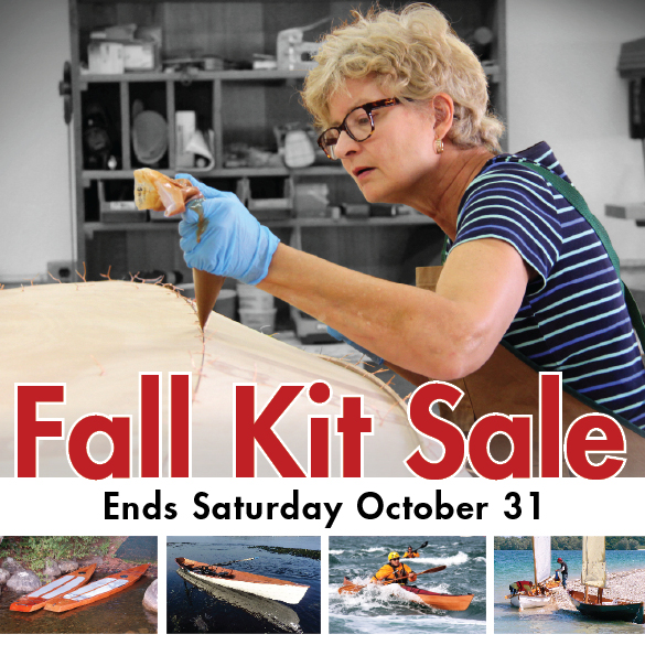Chesapeake Light Craft Fall Kit Sale 2015