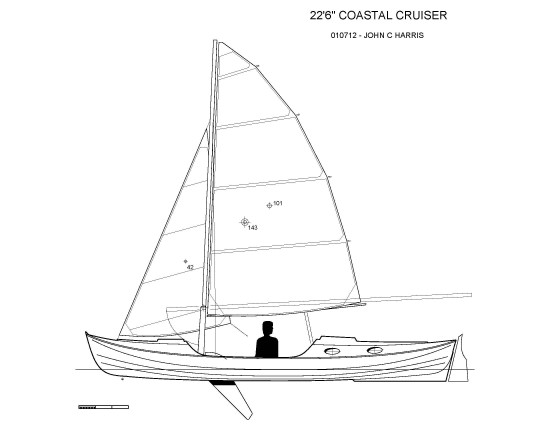 "22'6"" Coastal Cruising Faering"