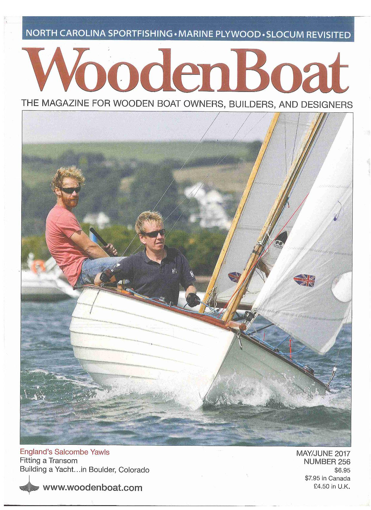 Woodenboat magazine #256: 'marine plywood: a consumer's guide'.