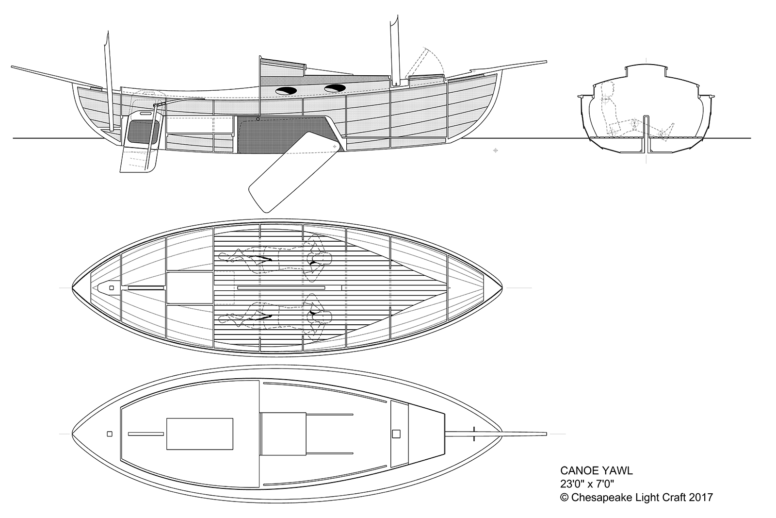 Joy Spring Canoe Yawl