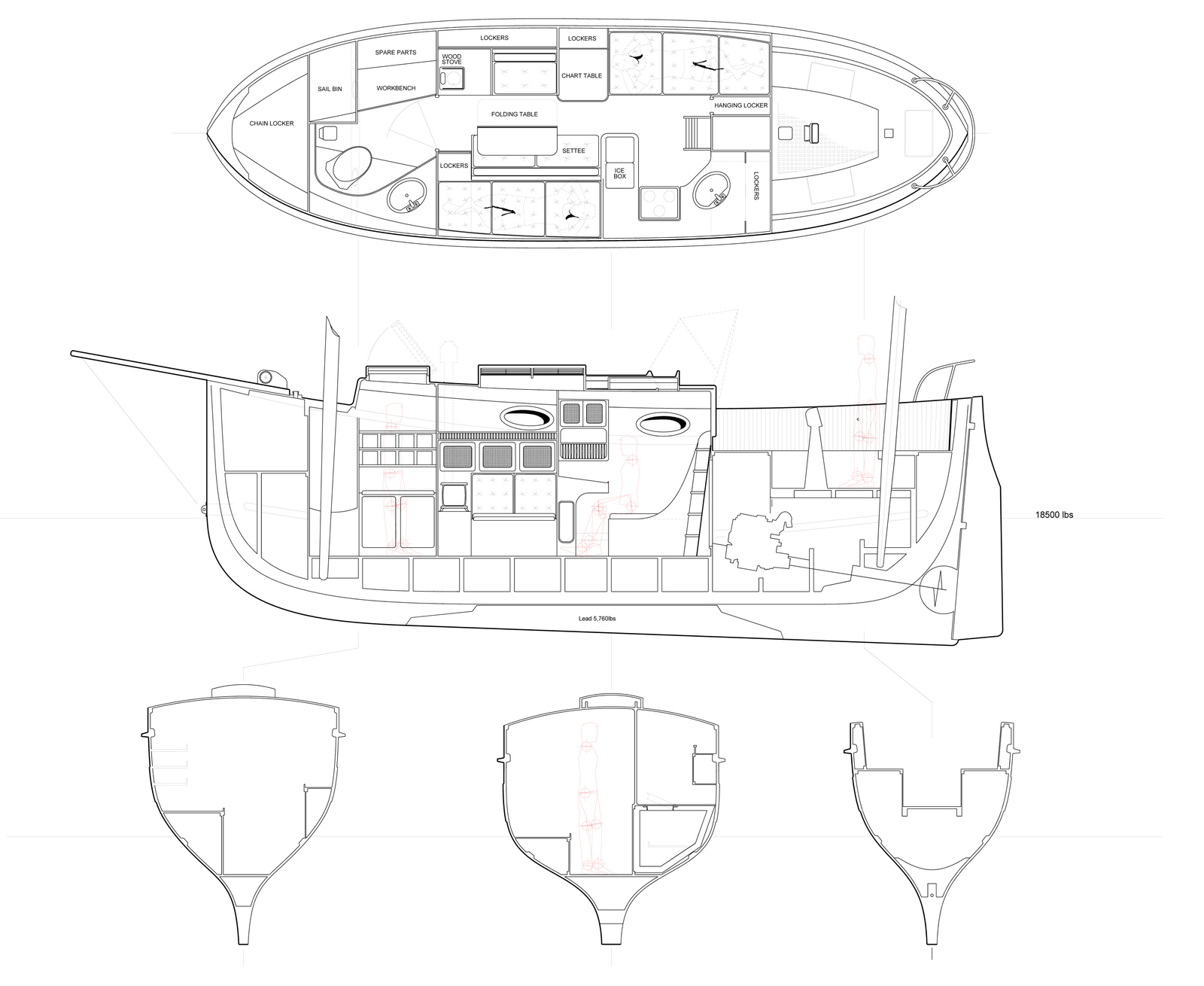 ' ' from the web at 'https://www.clcboats.com/images/blog/Bigger%20PocketShip/Fifie%20Yacht%20-%20Plan%20and%20Elevation%20II.jpg'