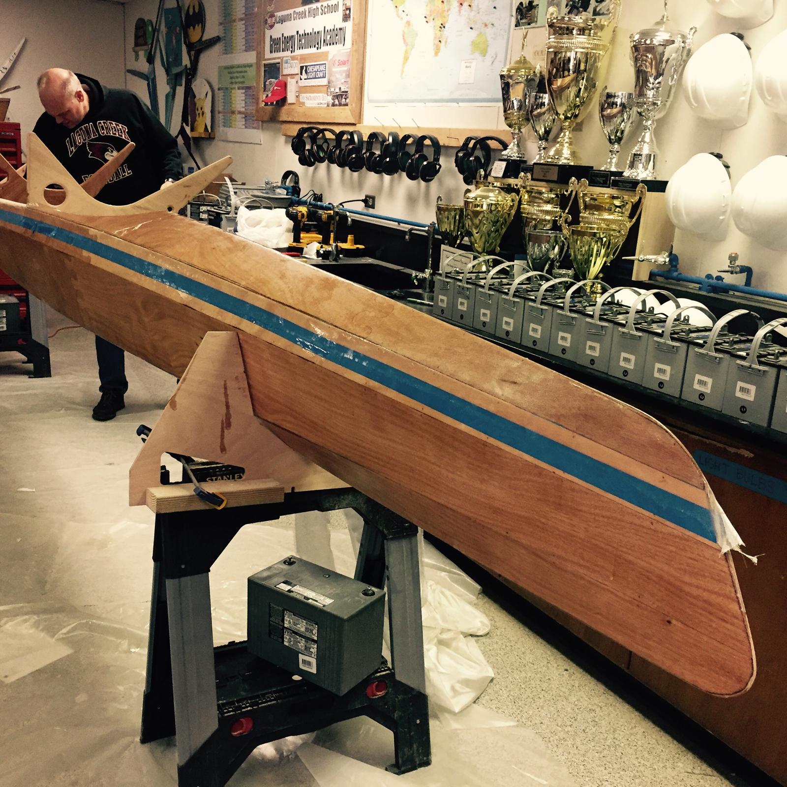 Solar Racing Boat