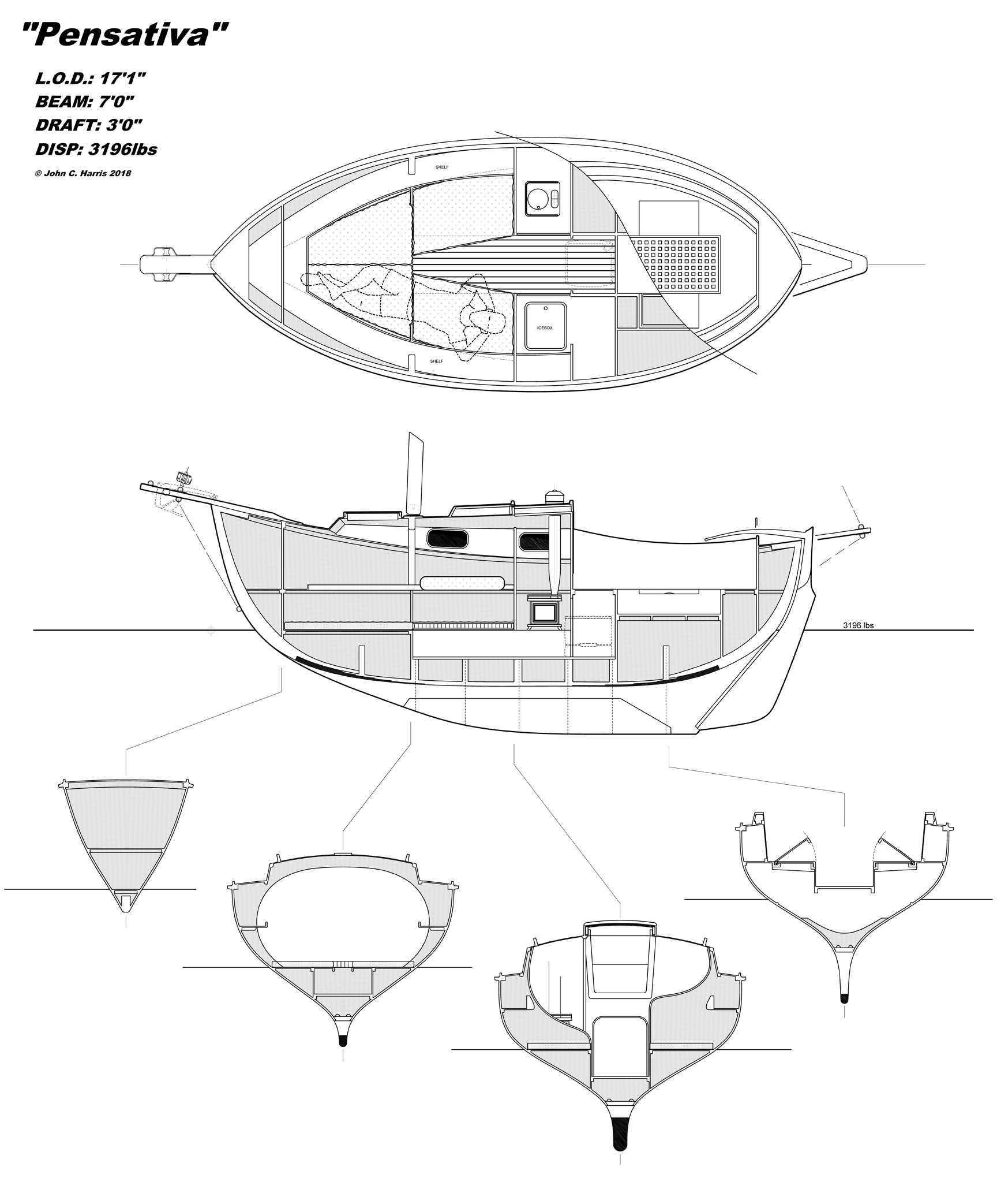 John Harris Pocket Cruiser Design