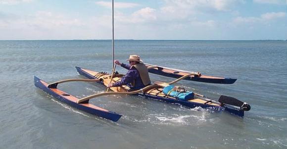 Paddling A CLC SailRig