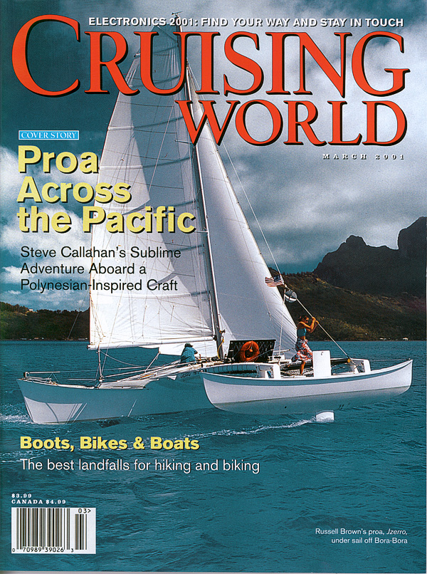Russell Brown Cruising World Proa Cover