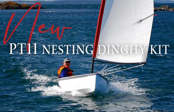 A polished and innovative nesting dinghy