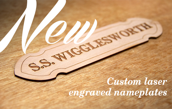 Laser Engraved Nameplates