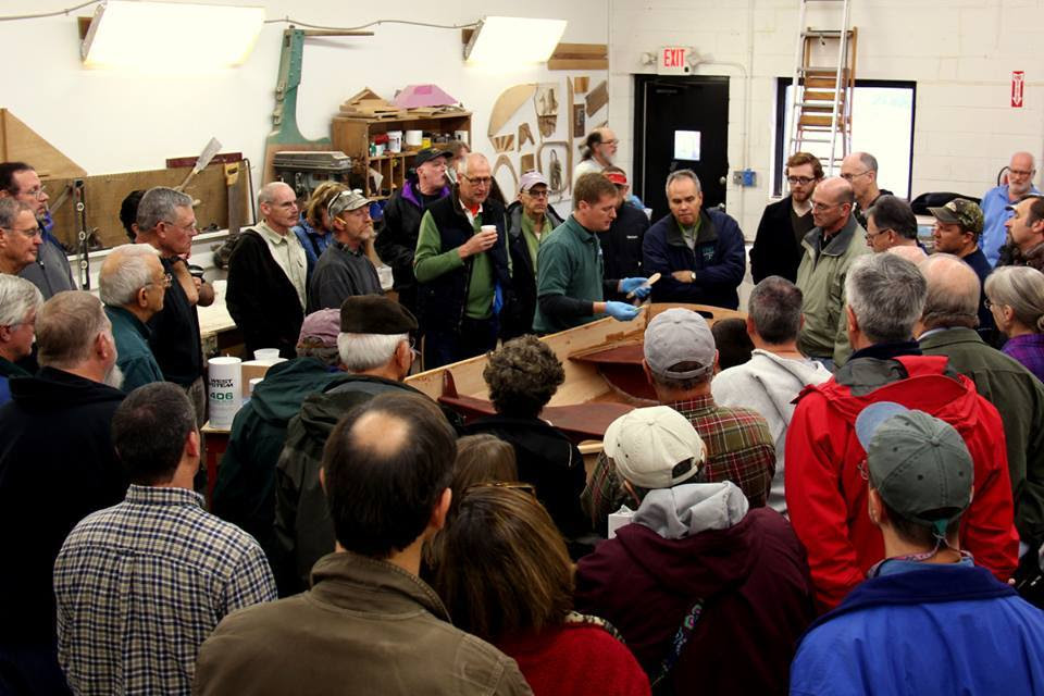 Demonstrations at the CLC Shop