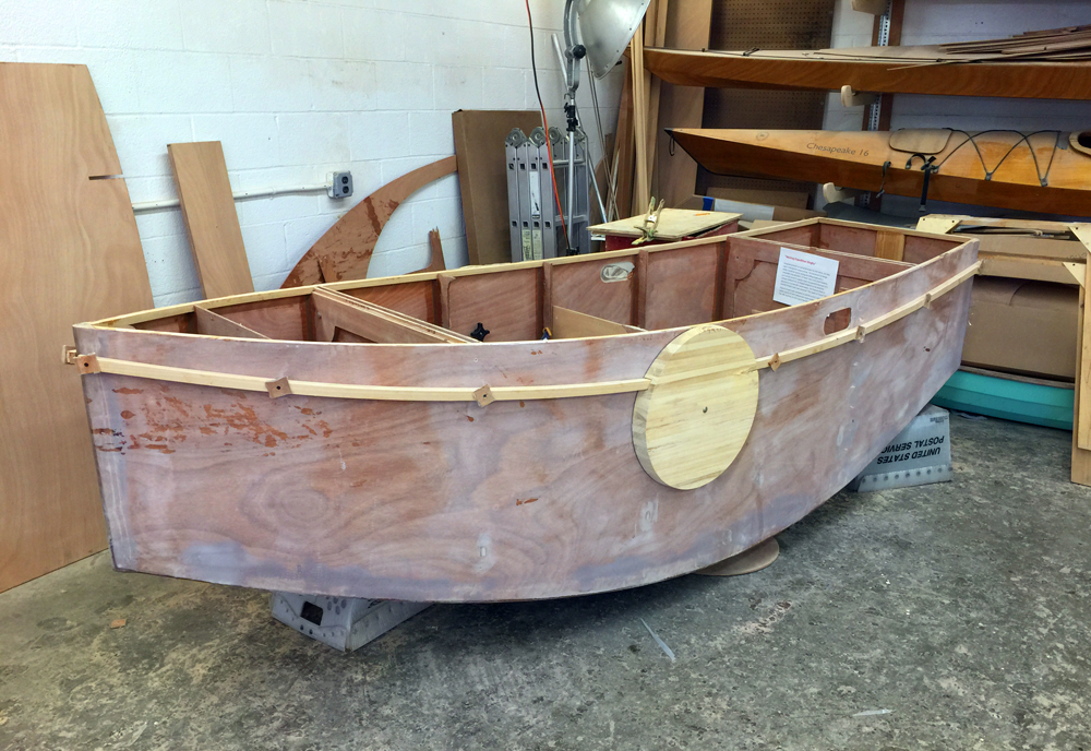 CLC's Nesting Expedition Dinghy