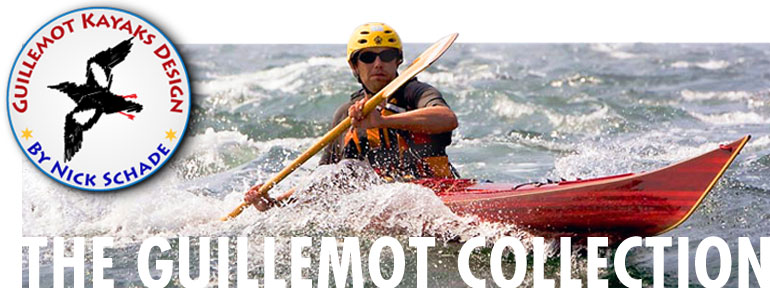 The Guillemot Kayak Collection - page header