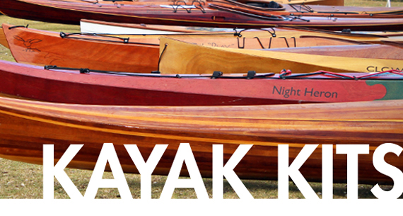 Wooden Kayak Kits Recreational Touring Performance Sea Kayaks