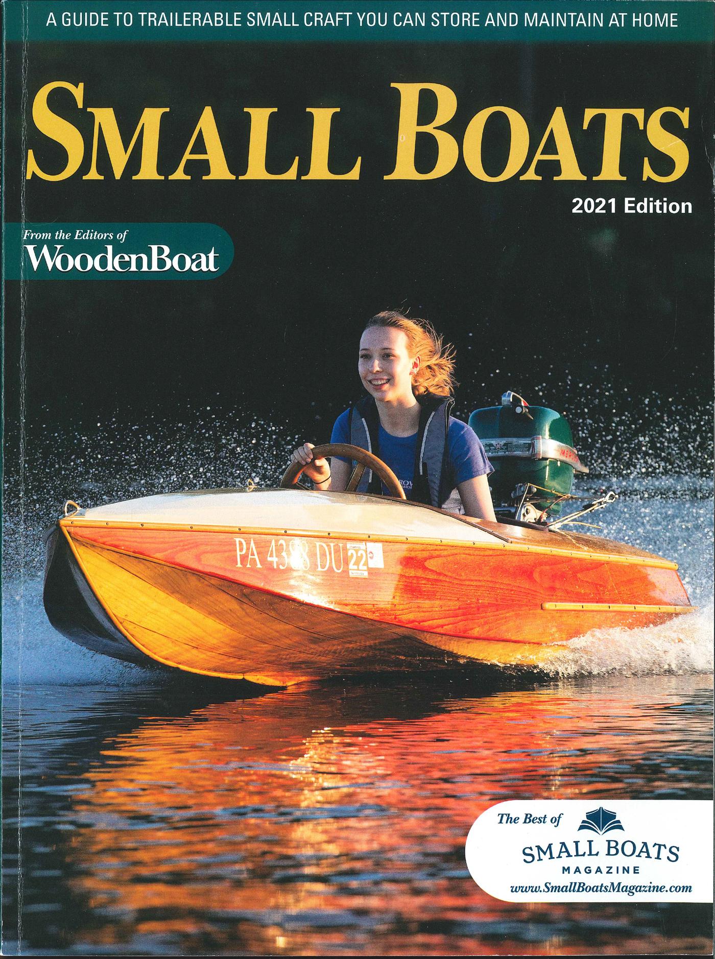 Small Boats 2021 Edition - Cover