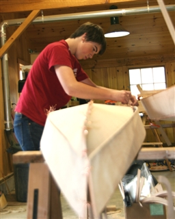 Students Build Kayaks at the Forman School