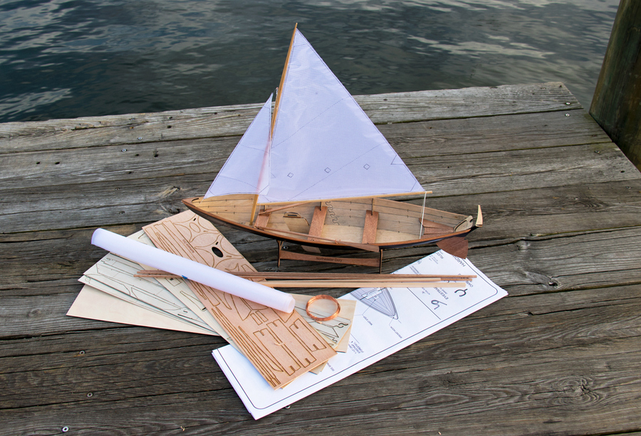 Scale Model Northeaster Dory Kit