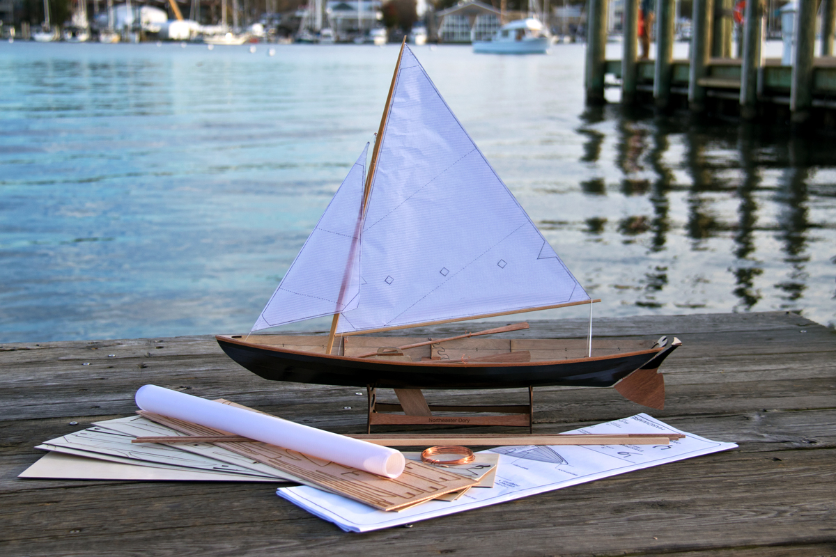 Scale Model Northeaster Dory