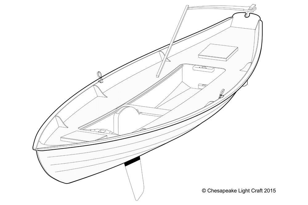 Southwester Dory Boat kit by Chesapeake Light Craft