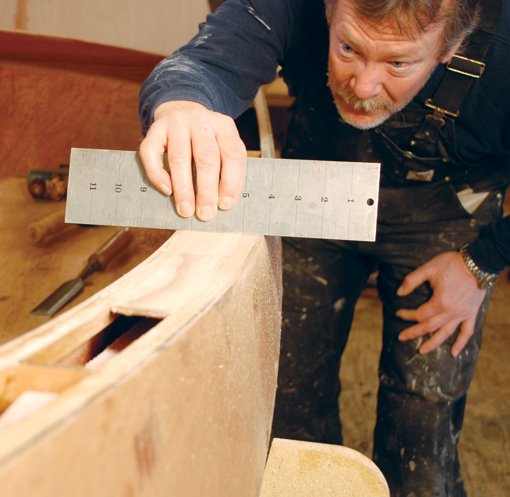 Boatbuilding Instructor Geoff Kerr