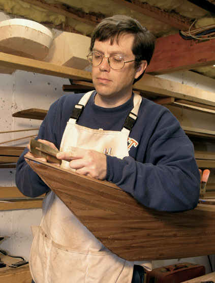 Boatbuilding Instructor Nick Schade
