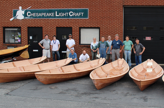 CLC Northeaster Dory Class group photo - May 6-11 2013