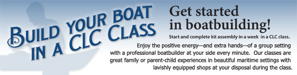 Build Your Own Boat in a CLC Class