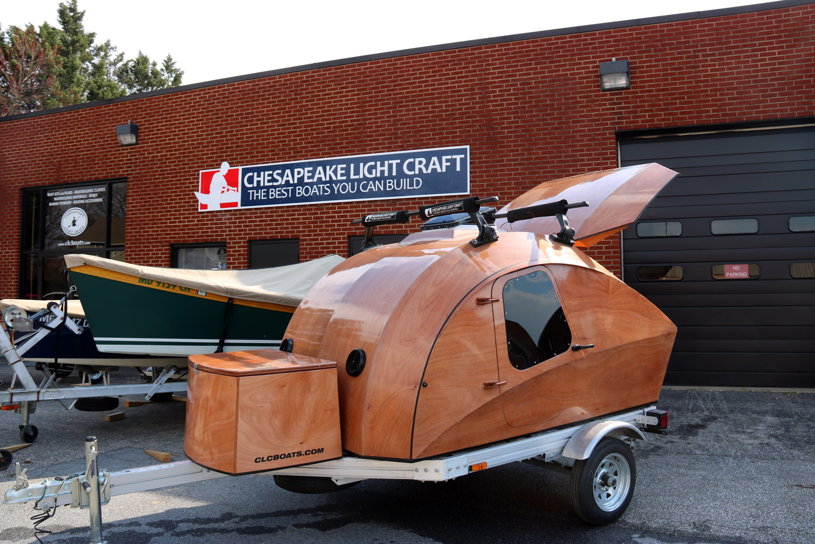 Teardrop Camper by Chesapeake Light Craft
