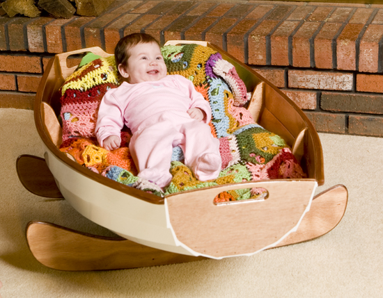 The CLC Cradle Boat: Build Your Own Baby Cradle!