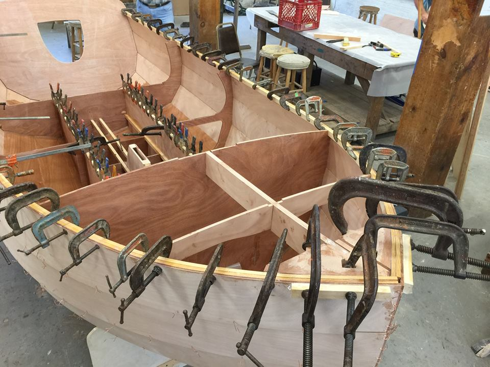NanoShip under construction