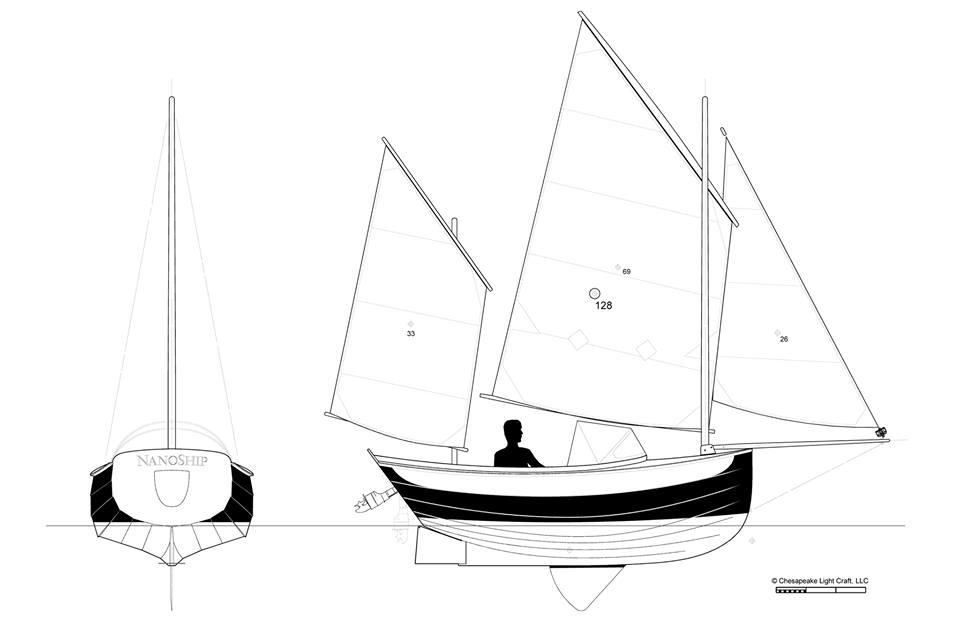 NanoShip Sailplan
