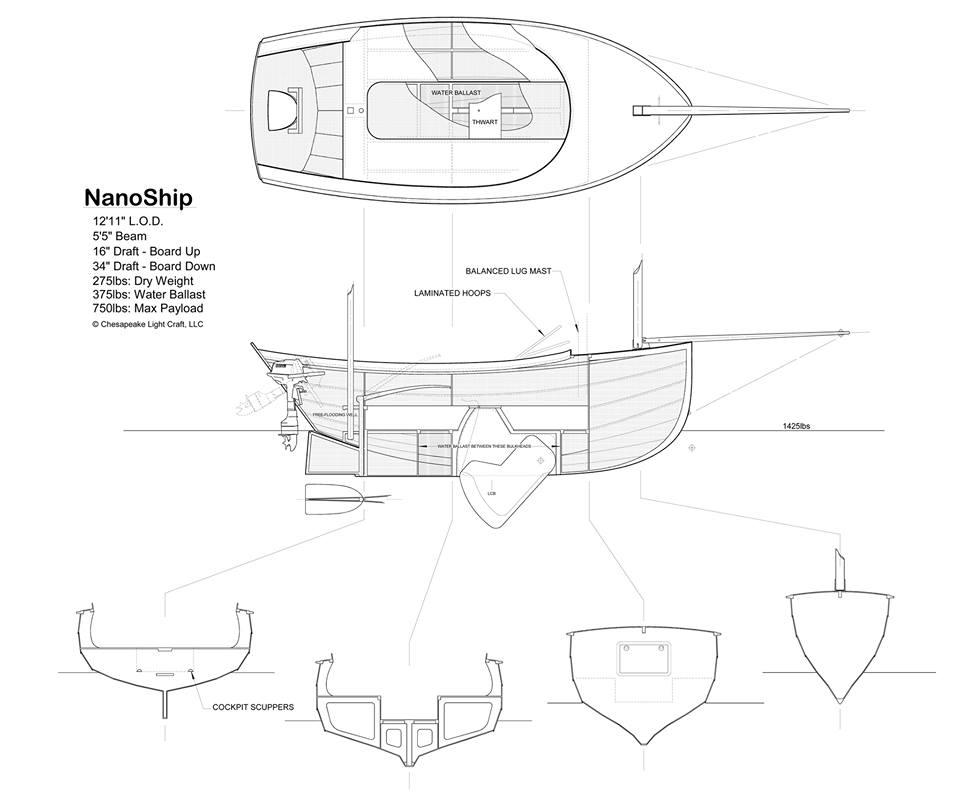 NanoShip Plans