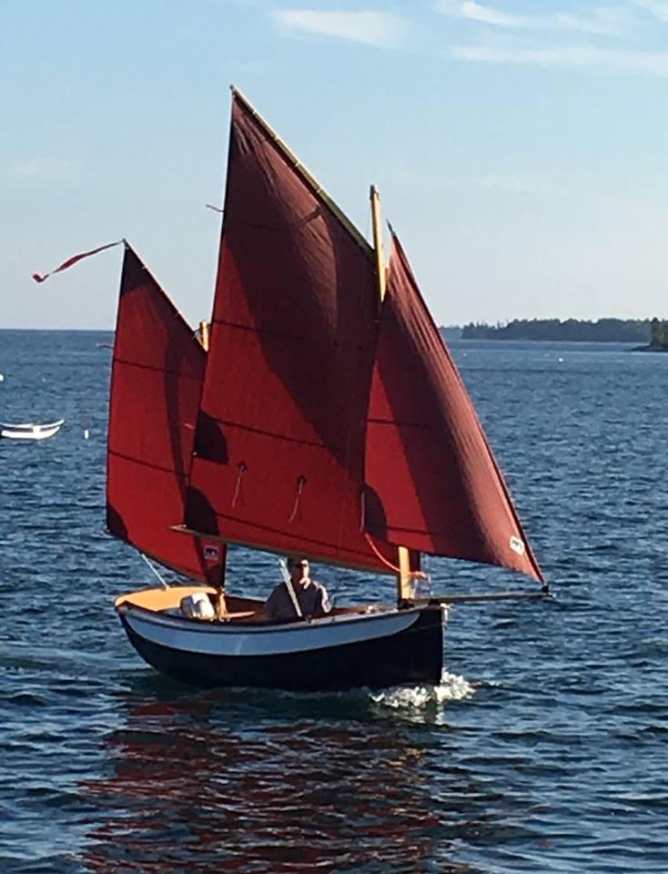 NanoShip sailing
