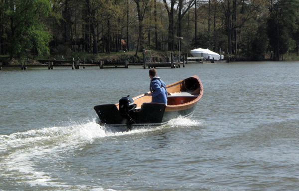 CLC build your own outboard skiff kit