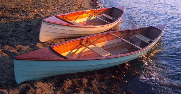 Sassafras Lapstrake Canoes