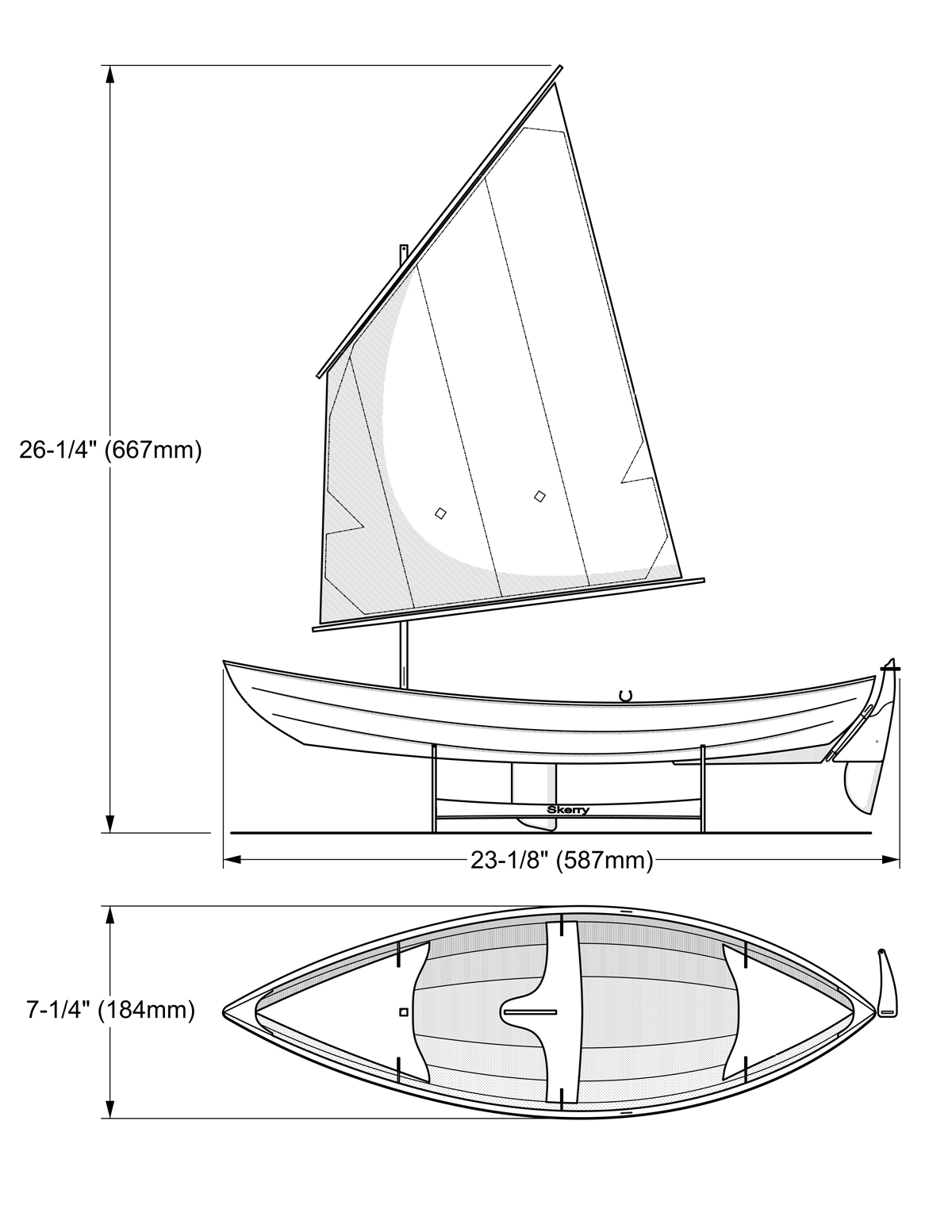 Skerry Model Dimensions
