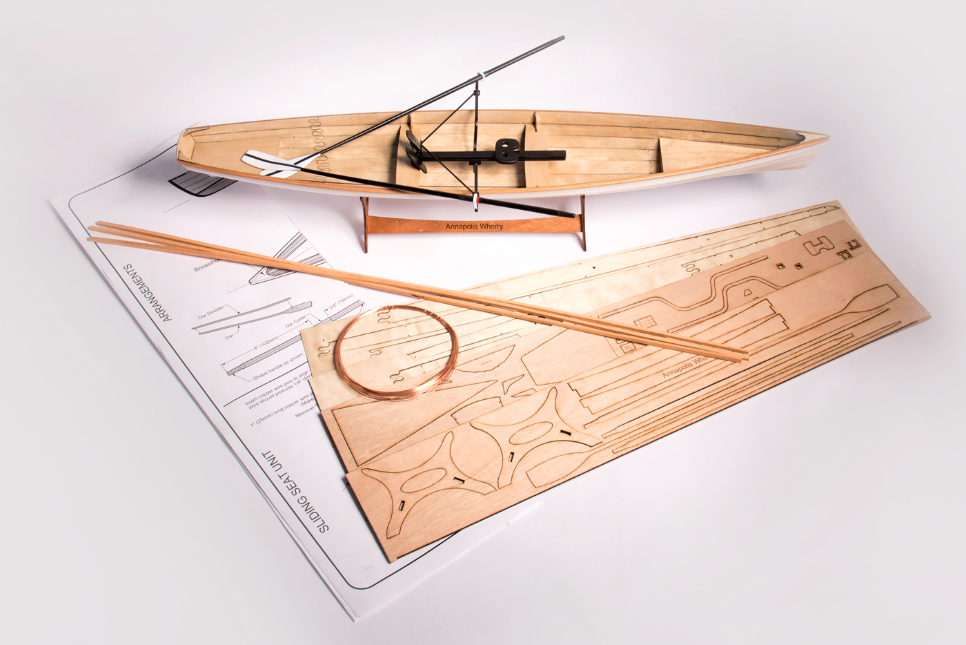 Annapolis Wherry Scale Model Kit
