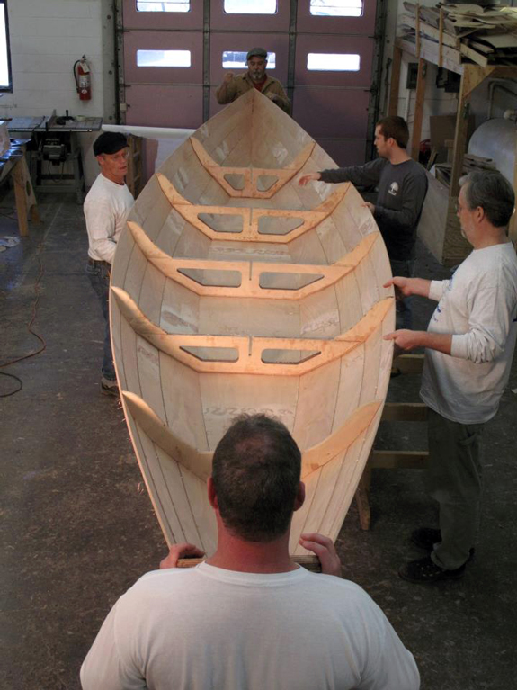 Team Dory - stitched hull