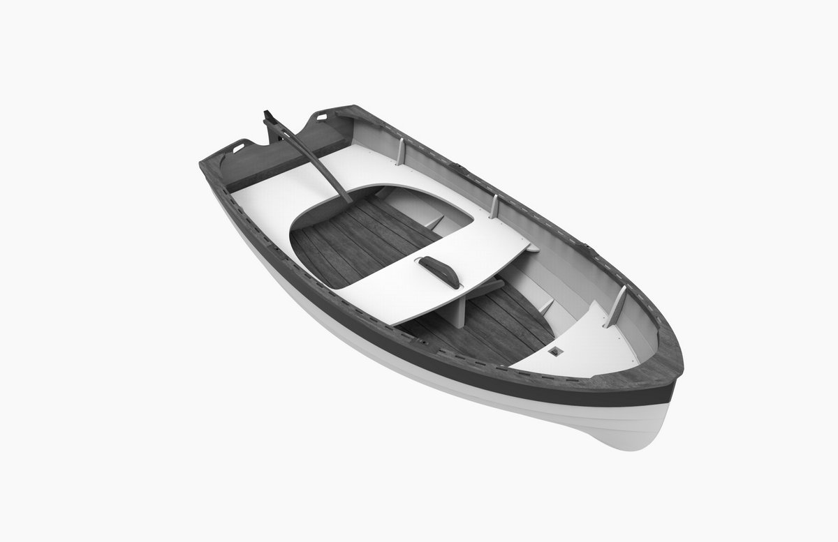 Tenderly Lapstrake Dinghy Kit