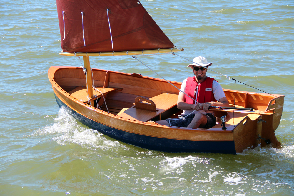 Beautiful, Ultra-light Rowing and Sailing Dinghies That You