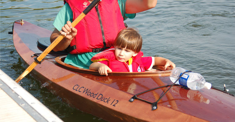 Wood Duck 12 Recreational Kayak - Build Your Own Boat