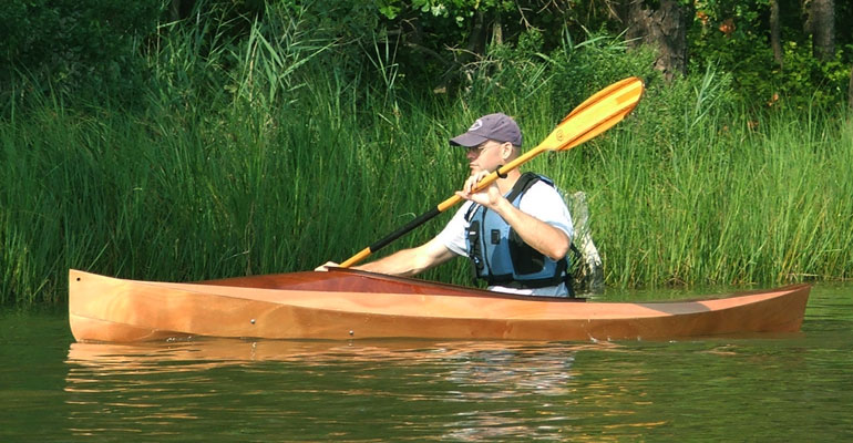 Build Your Own Wood Duck Kayak