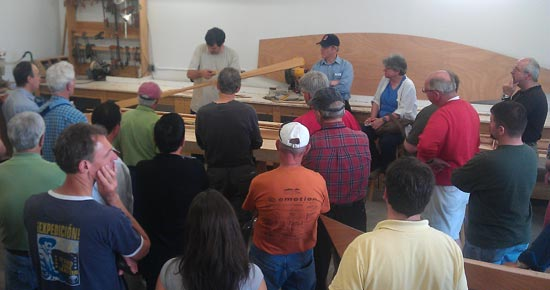 Making Greenland-style Paddles with Eric Schade at OkoumeFest
