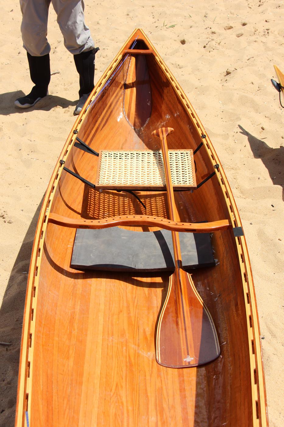 Rob Macksk' strip canoe