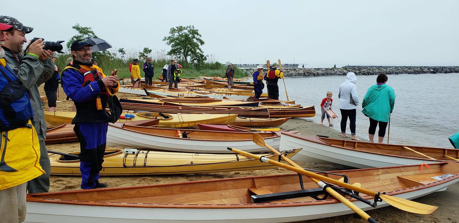 CLC OkoumeFest Wooden Boats